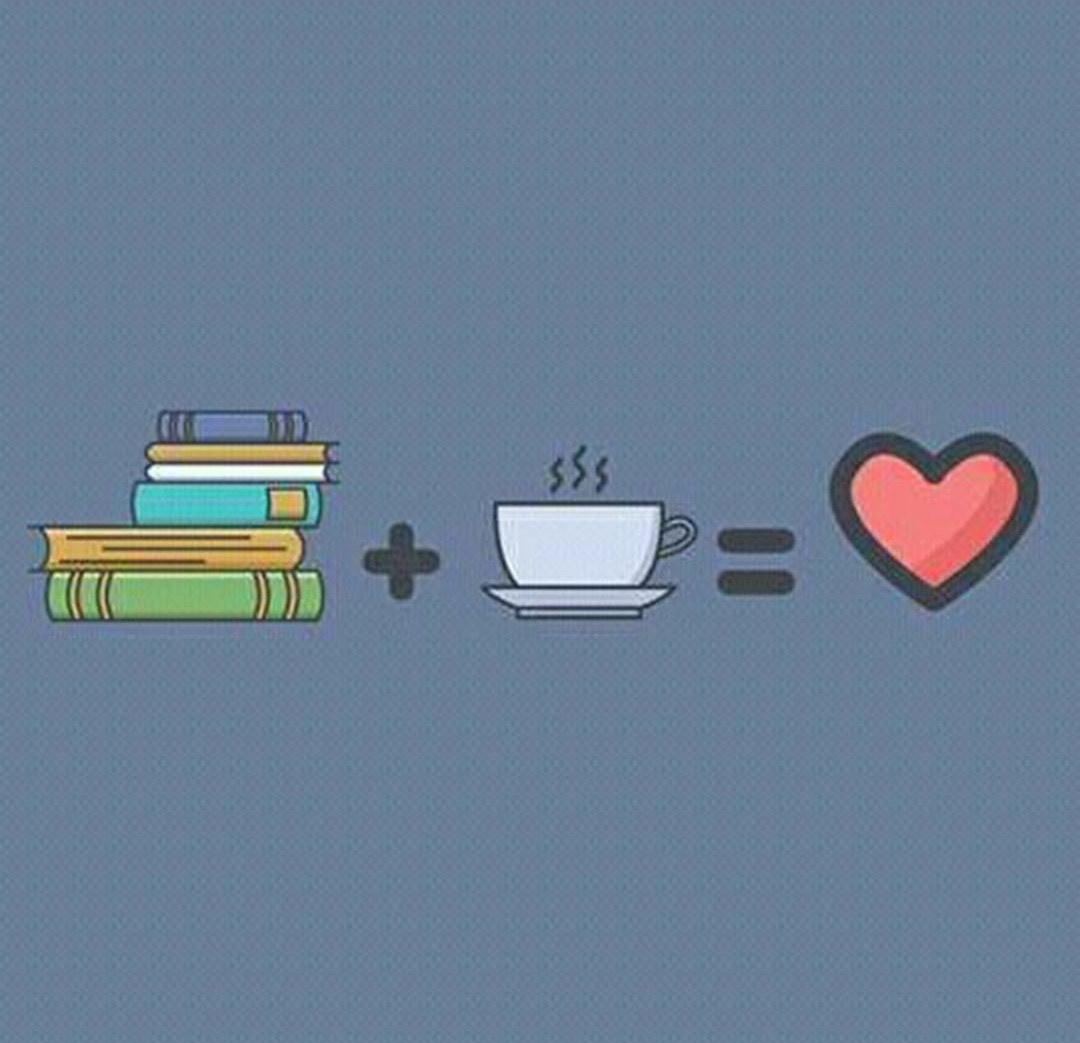 background, books, and coffee image