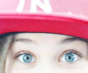 blue, eyes, and red image