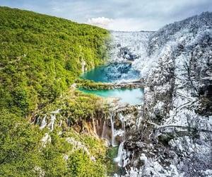 Croatia, nature, and plitvice lakes image