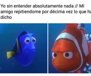 amigo, sad, and graciosos image