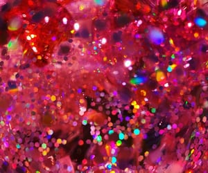 bauble, pink, and sparkle image