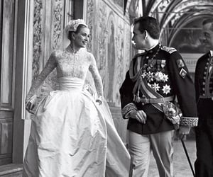 grace kelly, wedding, and princess image