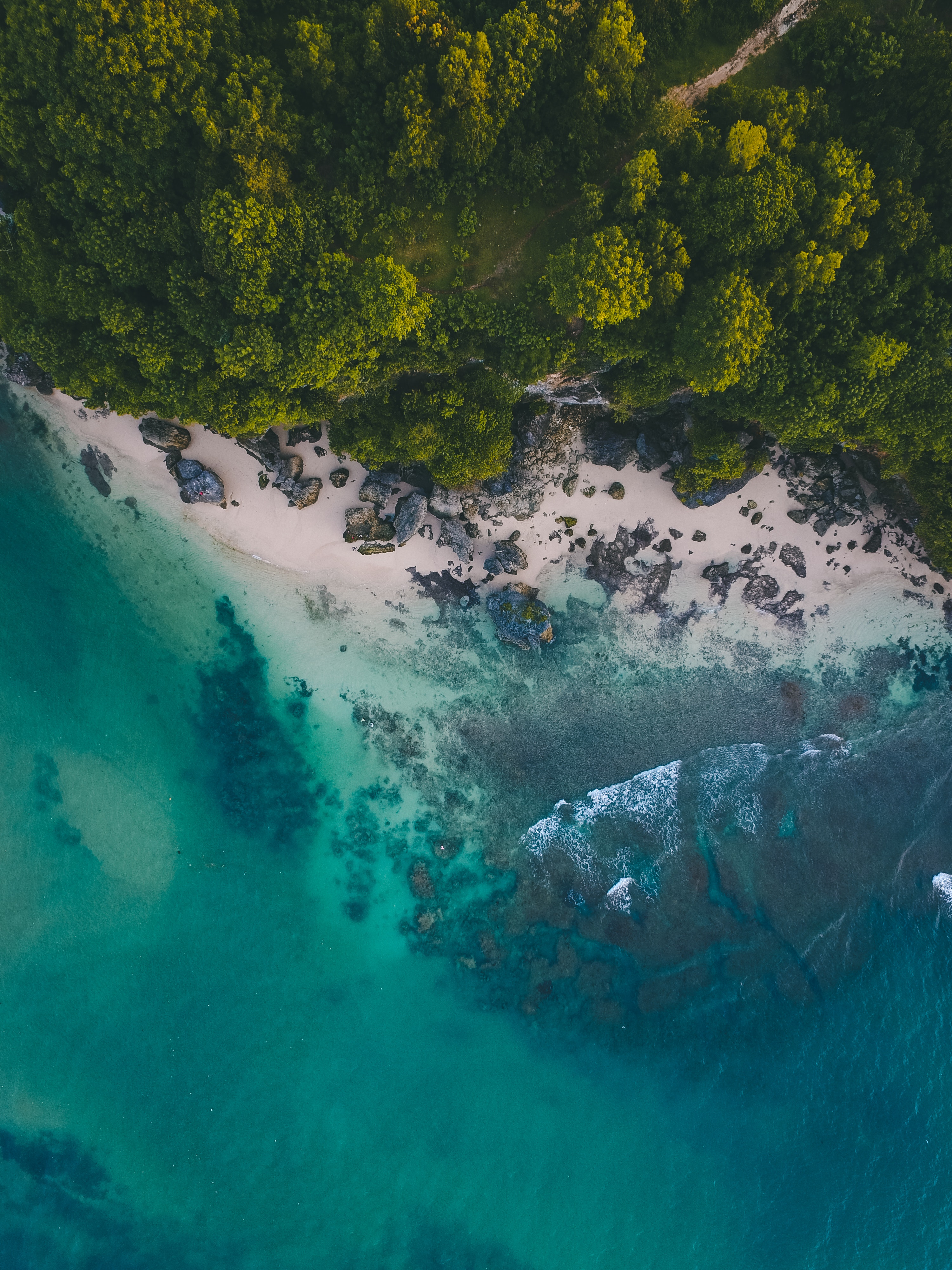 aerial, photography, and sea image