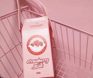 aesthetic, milk, and pink image