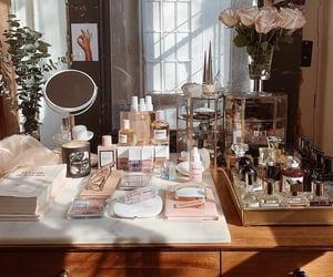 cosmetics, goals, and perfume image