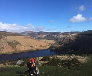 camping, hiking, and ireland image