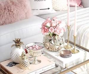 home, decoration, and flowers image