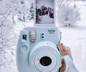 aesthetic, nature, and snow image