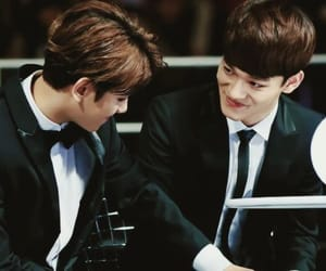 boys, Chen, and chanyeol image