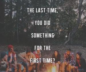 adventure, regrets, and bonfire image