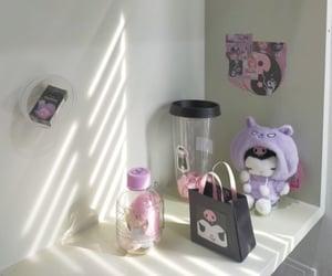 aesthetic, kuromi, and room image