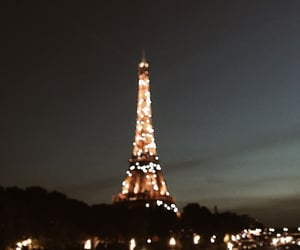 night, paris, and travel image