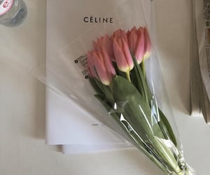 flowers, aesthetic, and celine image