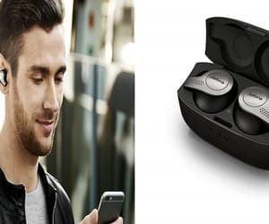 bluetooth, earphones, and technology image