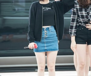 kpop, airport fashion, and eunha image