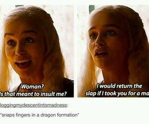 game of thrones, tumblr, and daenerys targaryen image
