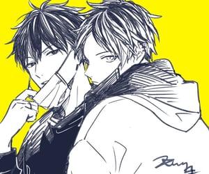 anime, handsome, and uenoyama image