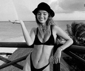 bikini, nature, and summer image