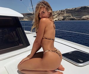 bikinis, fashion, and fitness image
