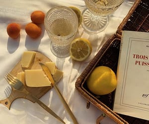 cheese, drink, and food image