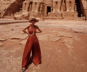 fashion, outfit, and travel image