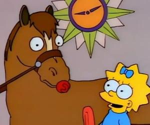 cartoon, pony, and simpson image