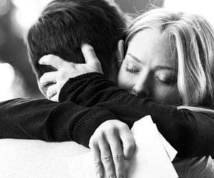 black and white, بوسة بوس قبلة قبلات, and couple couples image