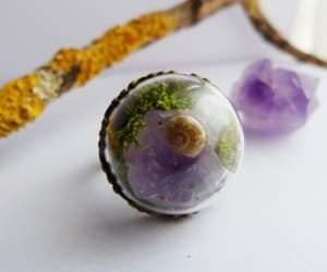 etsy, healing crystal, and purple crystal image