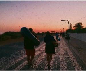aesthetic, sunset, and boyfriend image