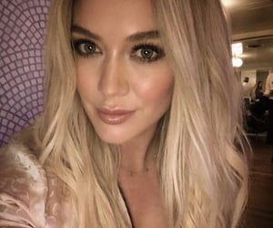 celebrities and Hilary Duff image