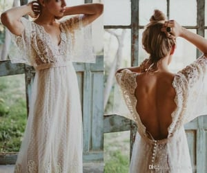 bride, style, and wedding image