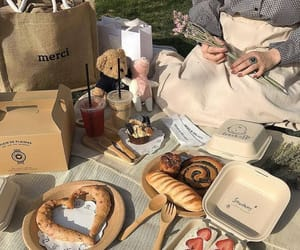 aesthetic, picnic, and theme image