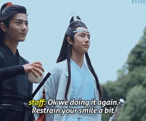 gif, the untamed, and wei wuxian image