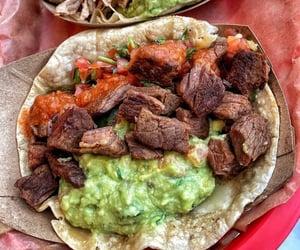 avocado, meals, and guacamole image