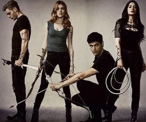 clary fray, shadowhunters, and alec lightwood image