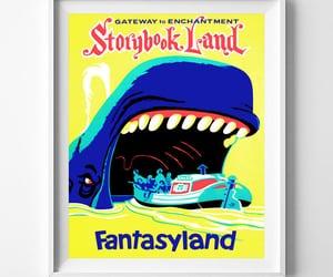 etsy, fantasyland, and disneyposter image