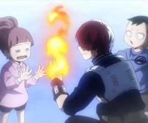 anime, mha, and shoto image