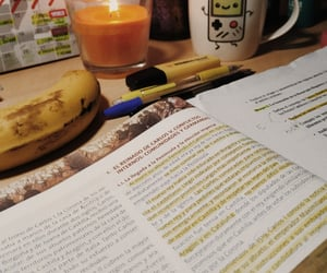 aesthetic, banana, and book image