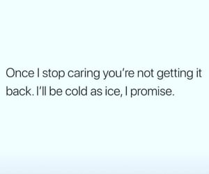 care, cold, and friendship image