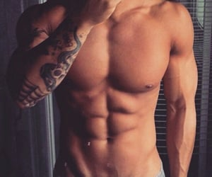 abs, boy, and handsome image