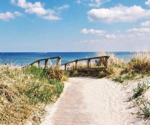 sea, summer, and holidays image