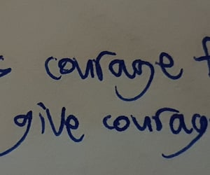 care, positivity, and courage image