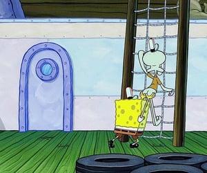 spongebob squarepants, rodger bumpass, and squidward tentacles image