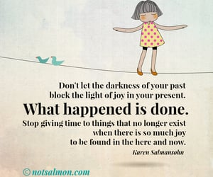 Darkness, now, and joy image