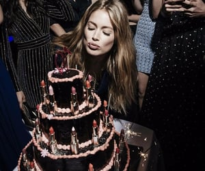 cake, birthday, and Doutzen Kroes image