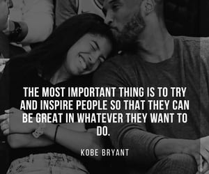 kobe bryant, quotes, and r.i.p image