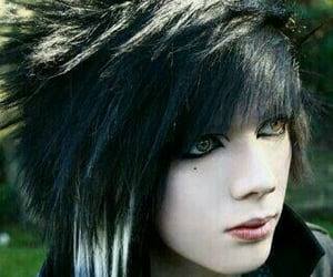 boy, hairstyle, and vampires image
