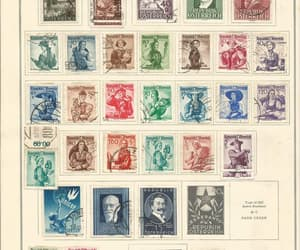 etsy, stamp collection, and old stamps for sale image