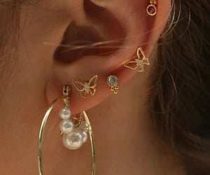 accessories, beauty, and Piercings image