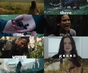 Collage, fandom, and hunger games image